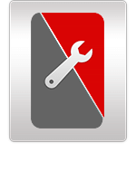 Blackberry Key2 backcover reparatur icon letsfix